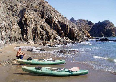 Costa cáilda - kayak
