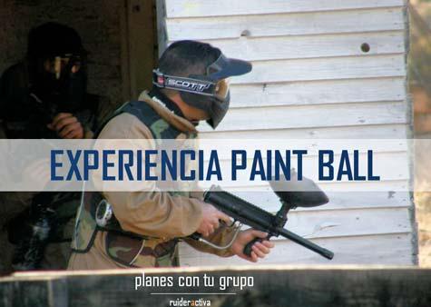 Paint Ball en Ruidera