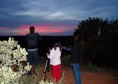 Ruta en Ruidera con iniciacion a la astronomia