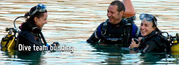 Dive Team Building