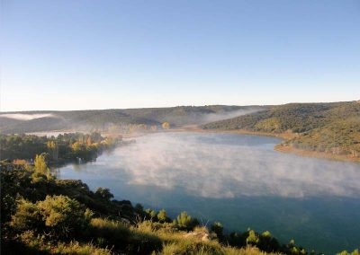 Vista laguna del Rey - Ruidera